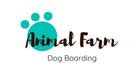 Animal Farm Dog Boarding Logo