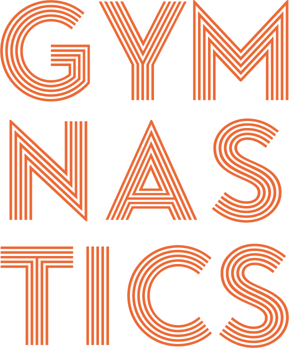 sleven GYMNASTICS secondary orange